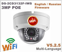 Hikvision OEM PTZ IP Camera DT2A404 = DS 2CD3132F IWS 4MP 4X zoom Network POE H.265 IK10 ROI WDR DNR Dome CCTV Camera 4pcs/lot