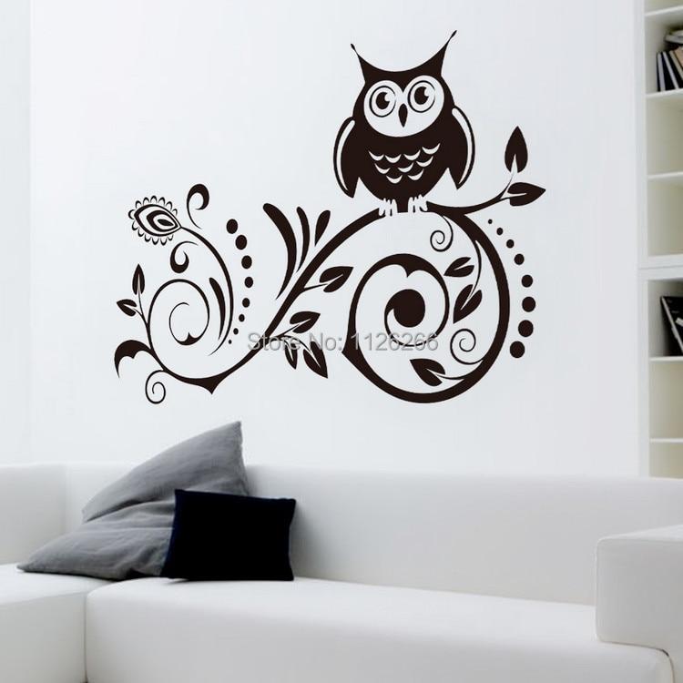 Dibujos para pintar en la pared hermosos mndalas para - Pegatinas para las paredes ...