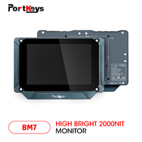 PortKeys BM7 7 inch Super Bright 2000nit HDMI/3G SDI Full HD On Camera Field Monitor with 3D LUT and HDR Preview,Video Monitor
