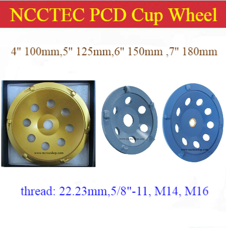 4'' 5'' 6'' 7'' diamond PCD Grinding Cup Wheel Epoxy Glue Mastic Paint Removal | 100mm 125mm 150mm 180mm  remove surface Rubber кремы mastic spa крем для тела cocoa butter cream mastic