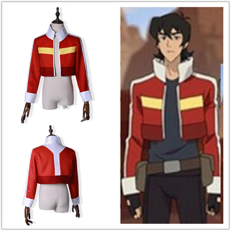Voltron:Legendary Defender Keith Red Jacket Top Coat Cosplay Costume Coats