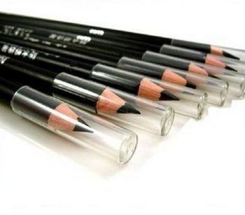 New Black 2Pcs EyeLiner Smooth Waterproof Cosmetic Beauty Makeup Eyeliner Pencil#M01124 1
