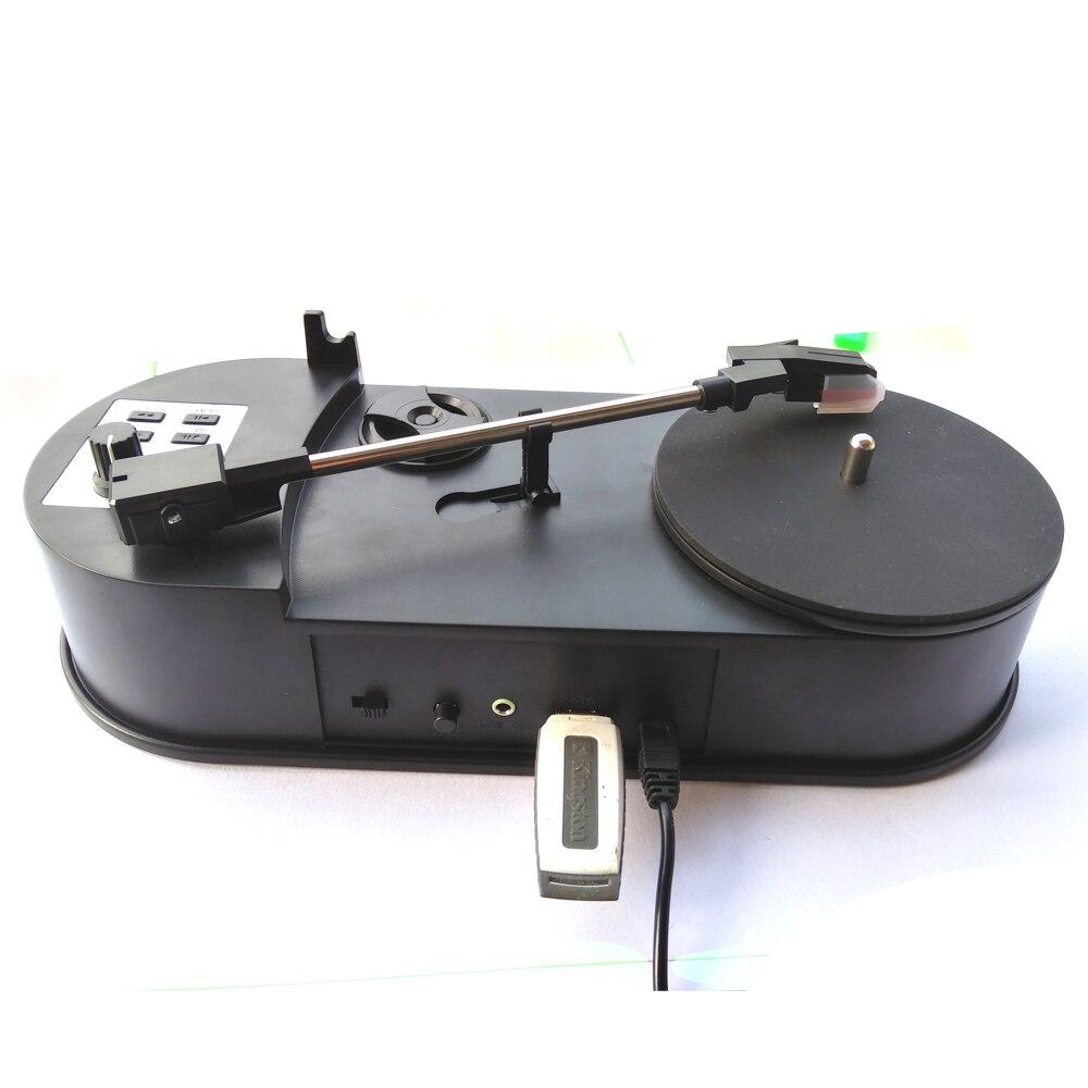 Konvertieren Plattenspieler Zu Mp3 Sparen In Usb Flash Disk/sd-karte Direkt 33/45 Wählen Vinyl Drehbare Phonographen Player Konverter