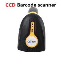 8100W CCD wireless barcode scanner with 8M storage,USB port CCD portable barcode scanner 433MHz wireless barcode reader gun