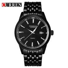 CURREN Часы Мужчины Люксовый Бренд Бизнес Случайный Часы Кварцевые Часы relógio masculino8052