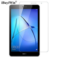 "iBuyiWin 9H Tempered Glass Screen Protector for Huawei MediaPad T3 8.0 KOB-L09 KOB-W09 Honor Play Pad 2 8"" Protective Glass Film(China)"