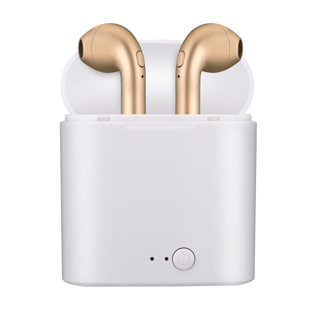 Hot Sell i7s TWS Wireless Bluetooth Earphone Stereo Earbud Headset With Charging Box For iPhone XS Android phone