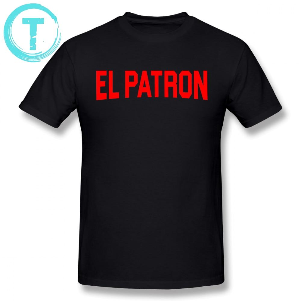 Orange Is The New Black T Shirt Narcos El Patron T-shirt 100 Cotton Classic Tee Shirt Short Sleeve Graphic Man 6xl Cute Tshirt T-shirts