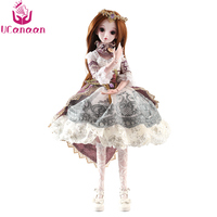 UCanaan 5 Styles 1 3 BJD SD Girls Doll 19 Ball Jointed Toys With All Outfits