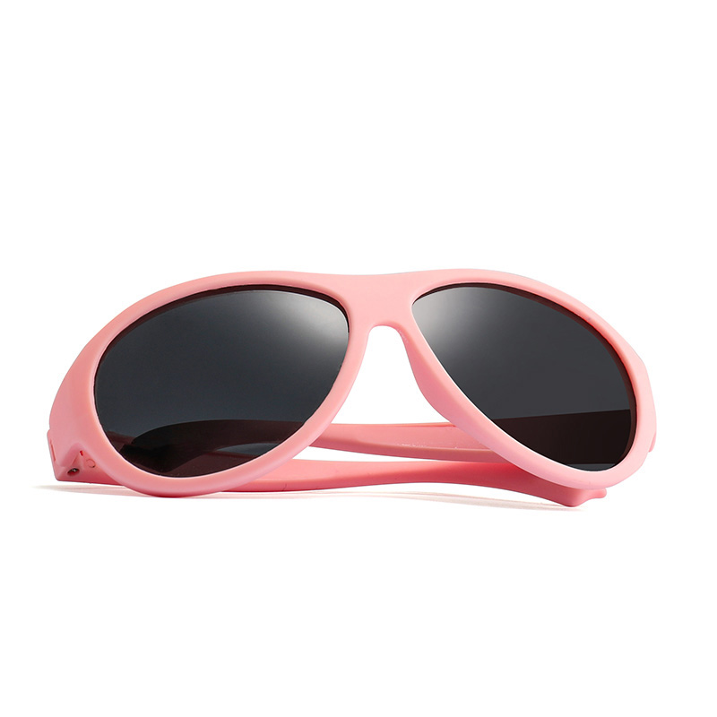 2019 New Polarized Kids Sunglasses Girls Boys Eyewear Silicone Oval Sun Glasses Children 39 s Glasses Goggles Gafas de sol UV400 in Sunglasses from Mother amp Kids
