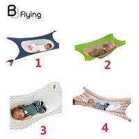 Baby Hammock Crib Detachable Newborn Healthy Development Hanging Bed Portable