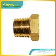 Brass union Male Taper BSP to Female Taper BSP  for air conditioner
