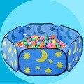 Novas Crianças Jogo Tenda Criança Oceano Bola Pits Piscina Noite Interior Crianças ao ar livre Casa Estrela Lua Piscina Esporte Jogando Tenda Do Bebê Do Divertimento presente