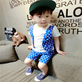 2017 New Autumn Clothing Set Baby Boy Clothes Set Toddler Boys Kids Dot Clothes Cotton Short Sleeve T-shirt Pants Christmas