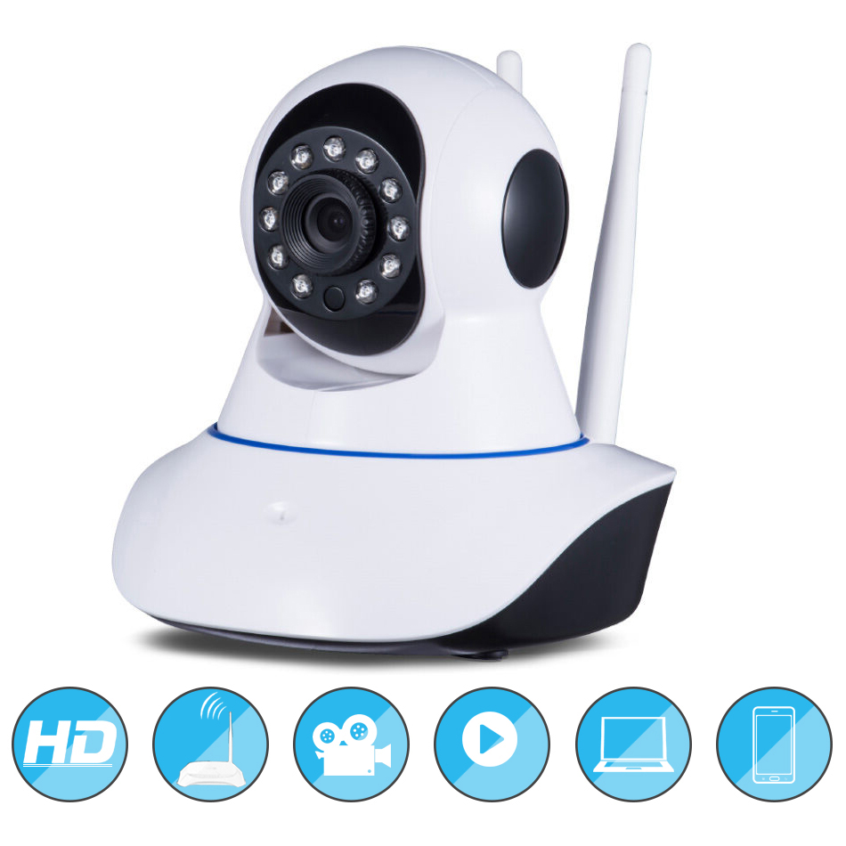 Home Security Wi-fi HD 1080P Wifi IP Camera Security Network IR Night Vision Camera H.264 Surveillance Cam For Baby Monitor hd 720p outdoor waterproof ip camera wi fi wireless mini network camera surveillance wifi ir night vision home security cctv cam
