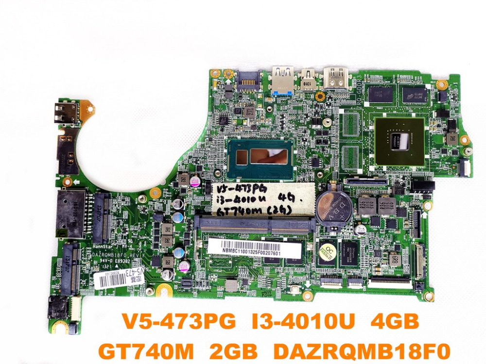 original for font b ACER b font V5 473G laptop motherboard V5 473PG I3 4010U 4GB