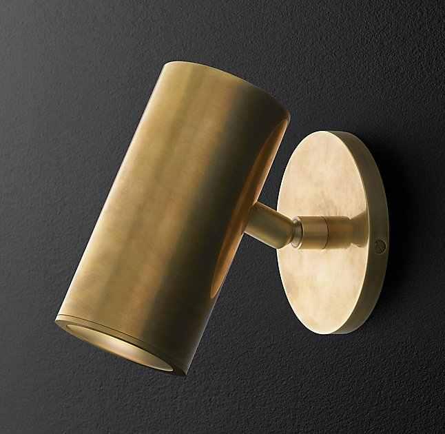 Американский Бронзовый настенный светильник Современный простой индивидуальный стиль скандинавский Гостиная Спальня Коридор латунная настенная лампа