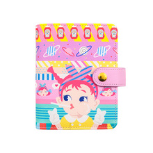 Happy Snow White Candy Color Cartoon Spiral Diary A6 A7 108 Sheets Children Diary Planner Gift xuanxuan diary white xxl