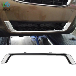 2009-2013 For Volvo XC60 XC 60 ABS Chrome Front Grille Around Trim Front bumper Around Trim Racing Grills Trim