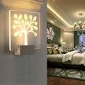 Indoor 5 W LED Wall Lâmpada AC110V/220 V Decorar o quarto arandela Branco Frio/Quente Branco, 3D design criativo