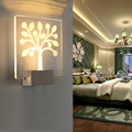Indoor 5W LED Wall Lamp AC110V/220V bedroom Decorate sconce Cold White / Warm White,3D creative design