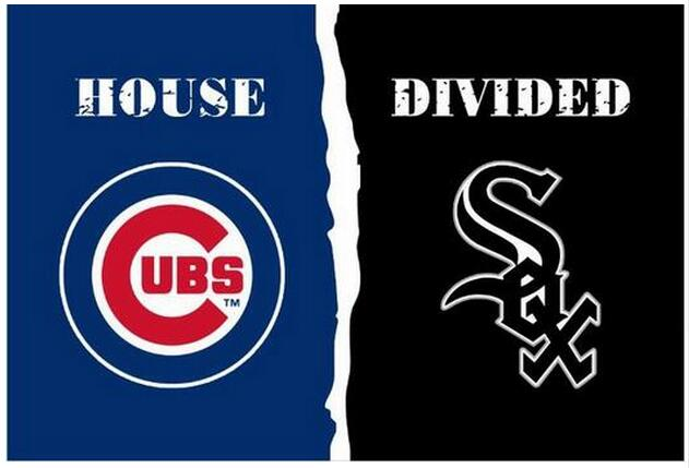 Chicago Cub vs Chicago White Sox House Divided Rivalry