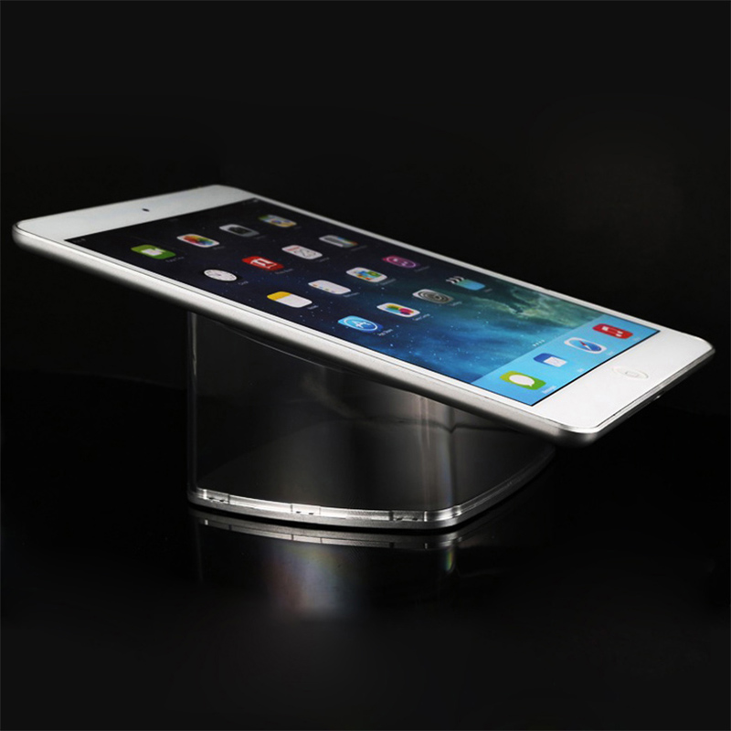 Acrylic tablet display stand ipad security holder samsumg PC bracket mount for retail shop exhibiton dummy display 40pcs lot 15cm acrylic security ipad stand tablet display holder round clear base for apple samsung shop