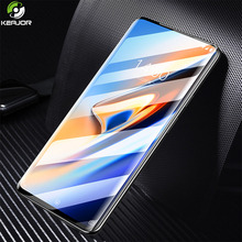 Keajor Glass For Oneplus 7 Pro Tempered Glass Full Cover 9H Screen Protector Thin Smooth Film For Oneplus7 1+7 Protective Glass