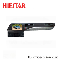 Car Stereo Radio Video DVD GPS Player 7 Touch Screen Bluetooth RDS Navigator For Citroen C5