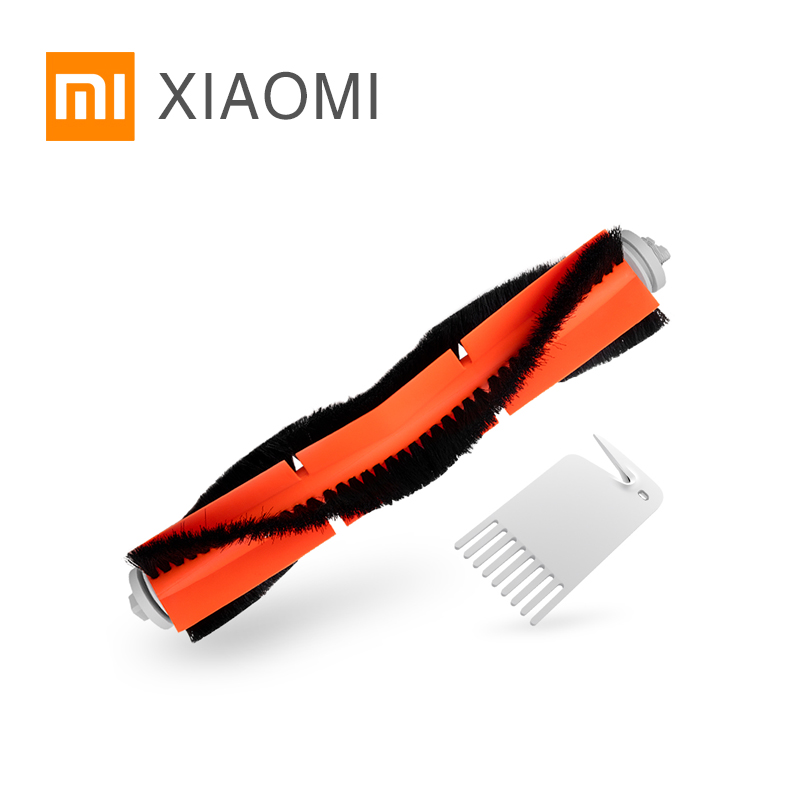 XIAOMI Robot Vacuum Cleaner Main Brush Roller Brush Spare Parts Roller Replacement Kits Cleaning Main Brush Roller Brush x 1 pcs thin leg brush handle push fat body five lines of main and collateral channels of roller brush push lipid massager