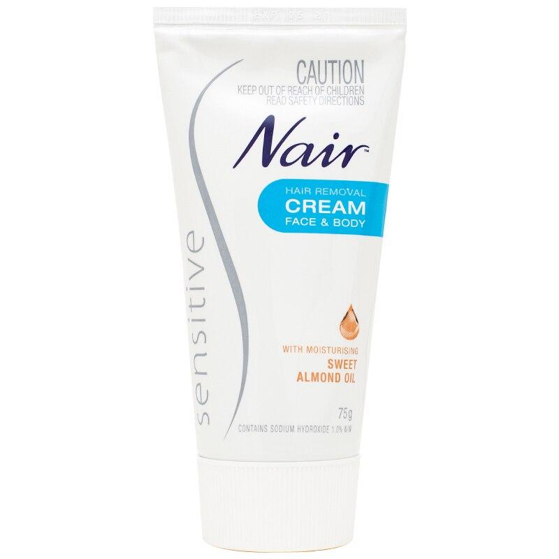 Original Australia Nair Sensitive Hair Removal Cream For Face Leg
