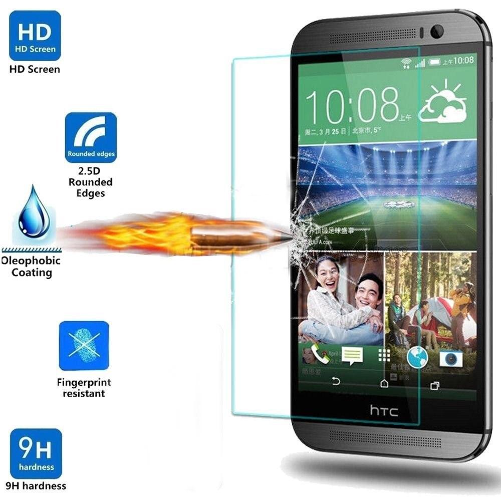 Gxe Экран протектор Плёнки 0.3 мм Передняя Премиум Закаленное Стекло для HTC один x9 One Me e8 One Mini M4 desire 728 826 глаз 630 828