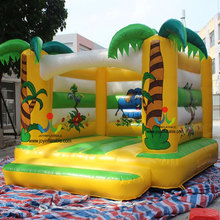 5X5.5M Inflatable Jump Bouncer Castle Portable Funny Indoor Playground For Kids Commercial High Grade Inflatable Trampolines