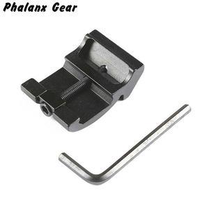 Image 1 - Ultra Low Profile Offset Picatinny Rail Mount 45 Graden 3 Slot 20mm Adapter Weaver AR 15 Scope Red Dot vergrootglas Zaklampen