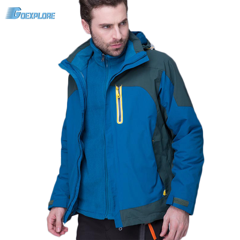 Outdoor jacket breathable new brand wear-resistant windbreaker winter Sports Overcoat Outerwear thermal jacket for mens