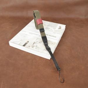 Image 5 - カムイン CS172 1801 綿 1815 テープ牛革ユニバーサルカメラストラップネックキャリング布一般調節可能なベルト