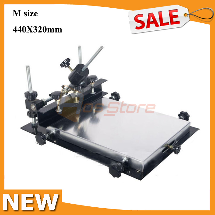 Manual solder paste printer,PCB SMT stencil printer M size 440x320mm Promotion!