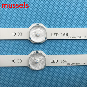 "Image 4 - LED Backlight strip For Samsung 32"" TV 12 lamp D3GE 320SM1 R2 LM41 00001S BN96 28763A LM41 00001R 2013SVS32 BN96 35204A New 2pcs"