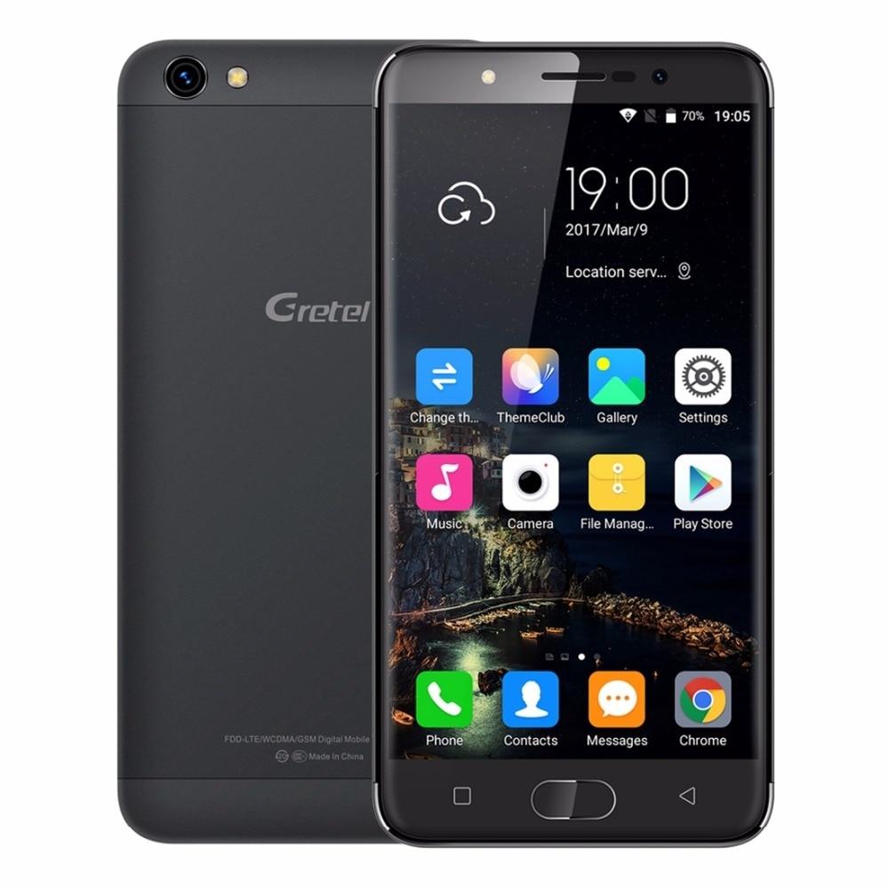 5 inch Gretel A9 MTK6737 Quad Core Android 6.0 Phone 2GB RAM 16GB ROM 1280*720 8MP Fingerprint 2300mAh Full Metal Smartphone
