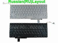 New RU Russian Keyboard For APPLE Macbook Pro A1297 BLACK For Backlit RU Laptop Keyboards