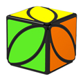 Nueva Llegada QiYi Mofangge Ivy Cubos Cubo El Primer Giro de la Hoja Línea de Puzzle Cubo Mágico Juguetes Educativos cubo mágico