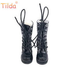 Tilda 3 2cm Doll Boots for Blythe Doll Toy 1 8 Mini Leather Dolls Shoes for