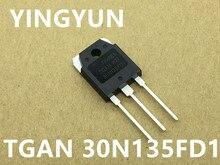 5PCS/lot   TGAN30N135FD1  TGAN 30N135FD1 TO-247  NEW