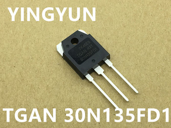 5PCS/lot   TGAN30N135FD1  TGAN 30N135FD1 TO-247  NEW g4pc30k irg4pc30k to 247