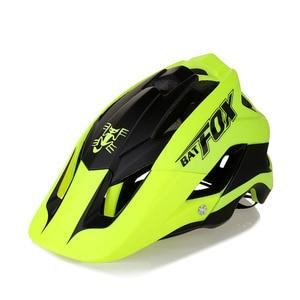 Image 3 - BATFOX 一体成型自転車道路ヘルメット男性 MTB スポーツサイクリングヘルメット超軽量プロバイクヘルメット
