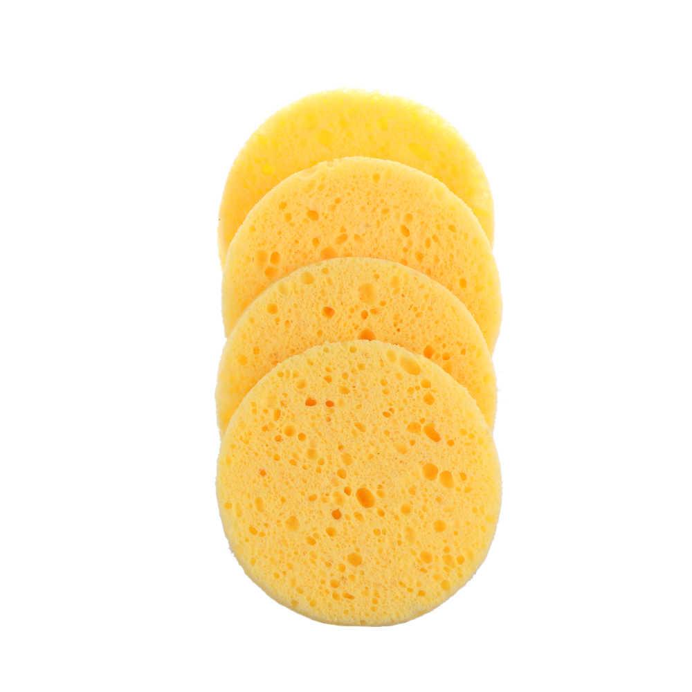 3 Pcs Natural Wood Pulp Facial Sponge Exfoliator Sponge Cellulose
