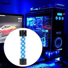 Tanque de agua de refrigeración por agua rotativa de 255 mm de longitud, para sistema de refrigeración líquida de PC, en 3 colores