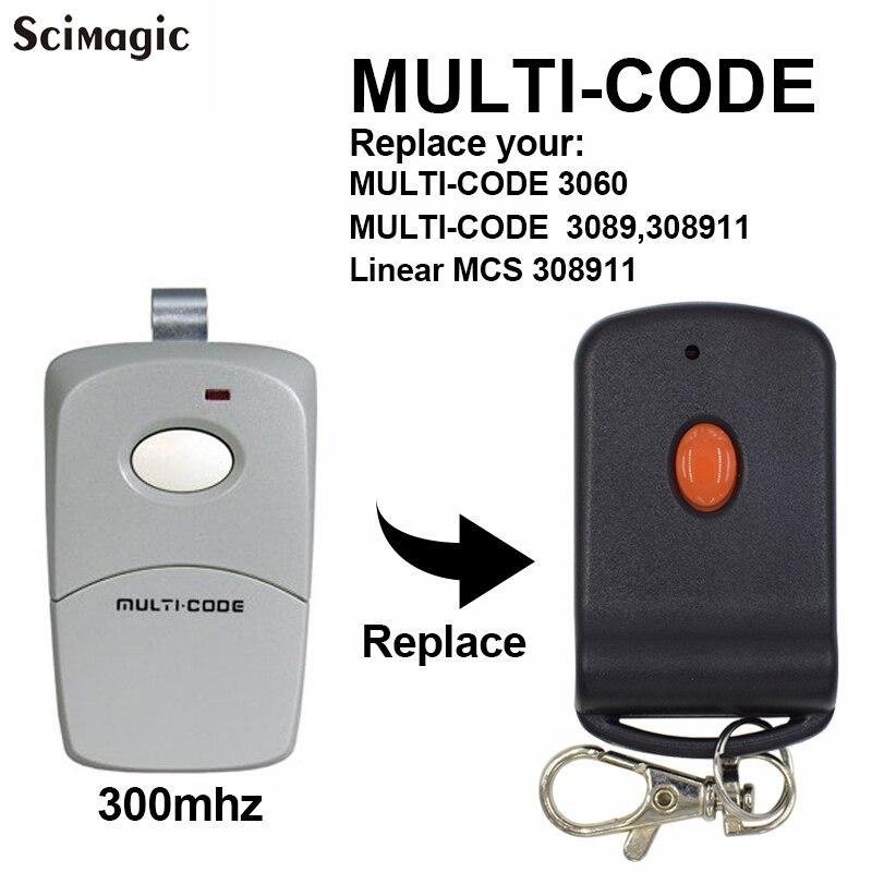 NEW AUTOMATIC GARAGE DOOR GATE OPENER RADIO CONTROL MULTI CODE MCS302850