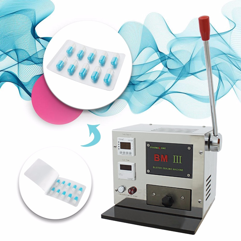 (220V 50HZ) Pro Mini manual Blister Maker, Blister Sealing Capsule Machine, Suitable for All Capsule Size,Hospital Healthcare 220v 50hz pro stainless steel semi auto capsule counter for all capsule size 5 000