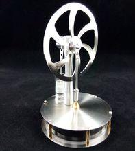 Stirlingi mootori temperatuuri erinevuse mudel on intuitiivne ja läbipaistev jõusilindri keskkonnakaitse, mis loob kingituse